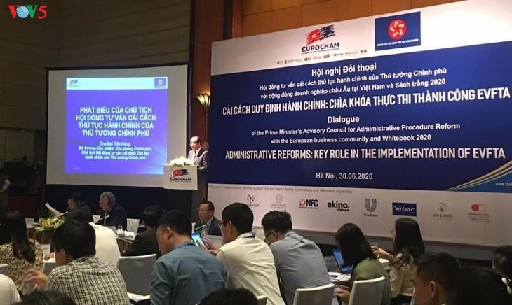 Les entreprises européennes accompagnent le Vietnam dans ses réformes  - ảnh 1