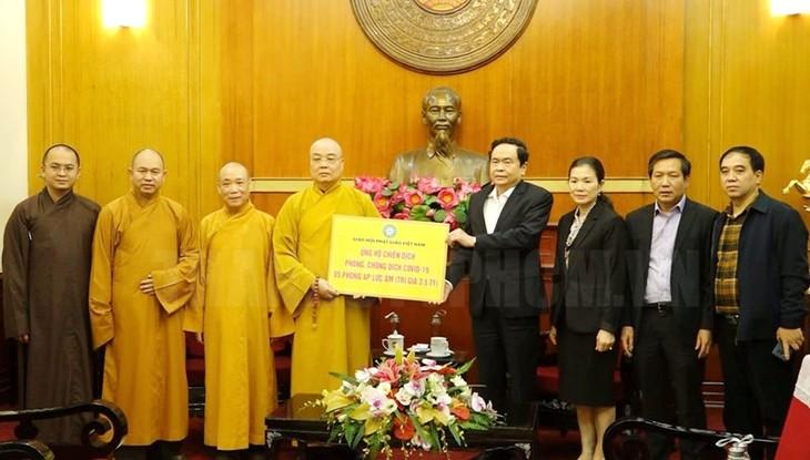 Protégés par la loi, les religieux vietnamiens défendent l'éthique sociale - ảnh 1