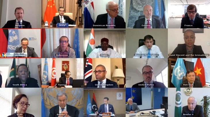 Libye : Le Vietnam appelle à la mise en œuvre des engagements pris lors de la conférence de Berlin - ảnh 1