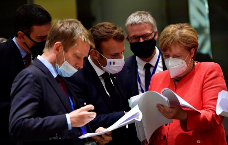 Plan de relance européen: un succès politique pour Emmanuel Macron - ảnh 1