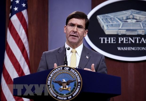 Mark Esper annonce la rotation des troupes américaines en République de Corée et dans le monde - ảnh 1