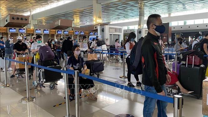 Rapatriement de 210 ressortissants vietnamiens d'Indonésie - ảnh 1