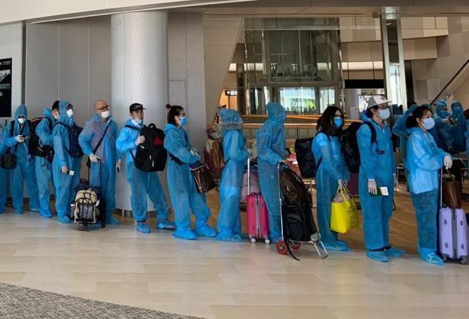 Rapatriement de 340 Vietnamiens du Japon  - ảnh 1