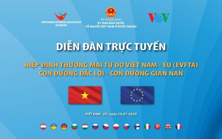 Le forum «EVFTA : un chemin profitable – un chemin difficile» a lieu ce 29 juillet - ảnh 1