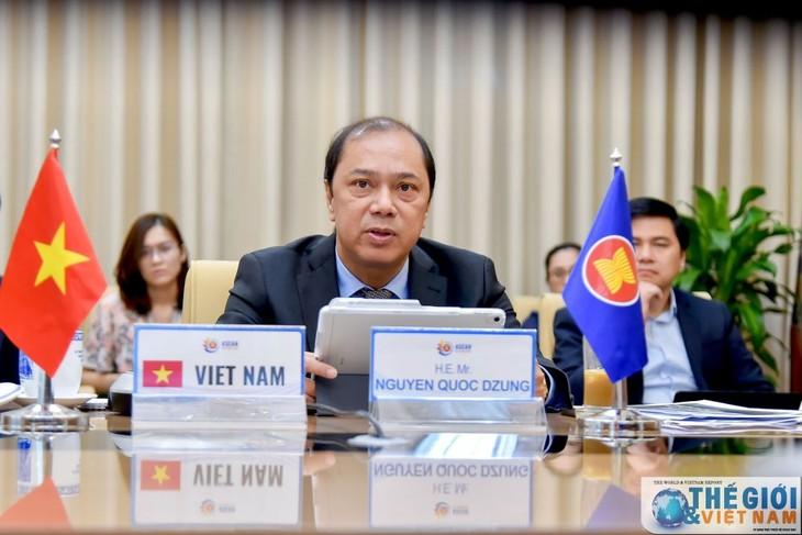 Dialogue virtuel sur le redressement de l'ASEAN post-Covid-19 - ảnh 1
