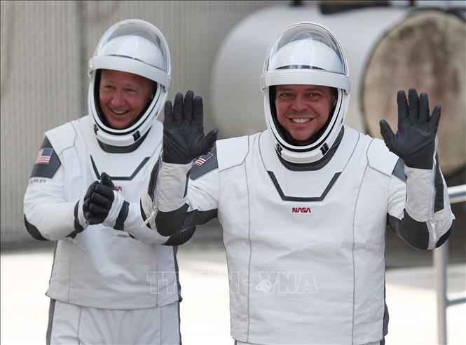 Retour sur terre des deux astronautes américains, à bord de la capsule SpaceX - ảnh 1