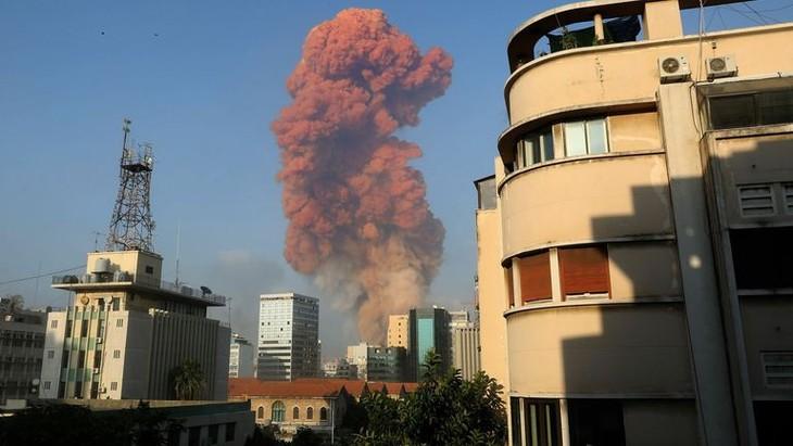 Double explosion à Beyrouth: une Vietnamienne parmi les blessés - ảnh 1