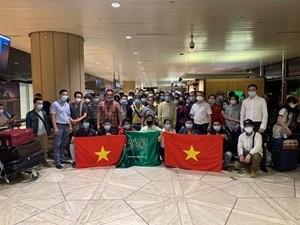 Plus de 270 Vietnamiens rapatriés de Cypre et d'Arabie saoudite - ảnh 1