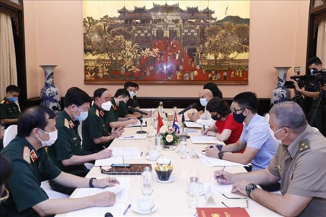 Le Vietnam et Cuba collaborent dans les recherches anti-Covid-19 - ảnh 1