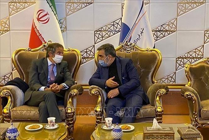 Nucléaire : discussions «constructives» en Iran avec le chef de l'AIEA  - ảnh 1