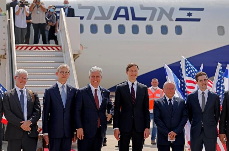 Premier vol commercial historique entre Israël et les Emirats arabes unis - ảnh 1