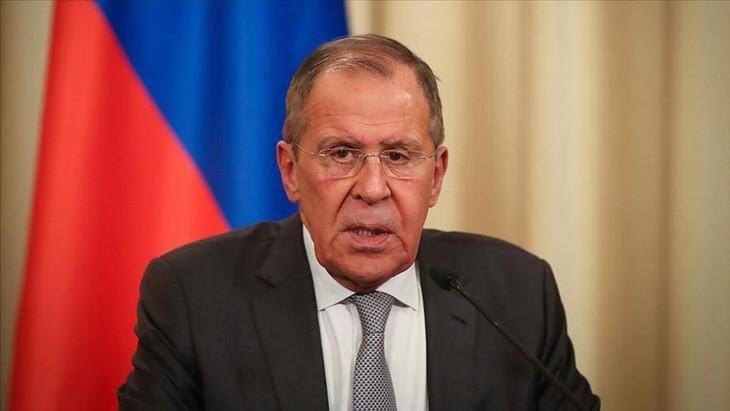 Sergueï Lavrov accuse l'Union européenne et l'Otan de faire des déclarations «destructrices» sur la crise politique en Biélorussie - ảnh 1