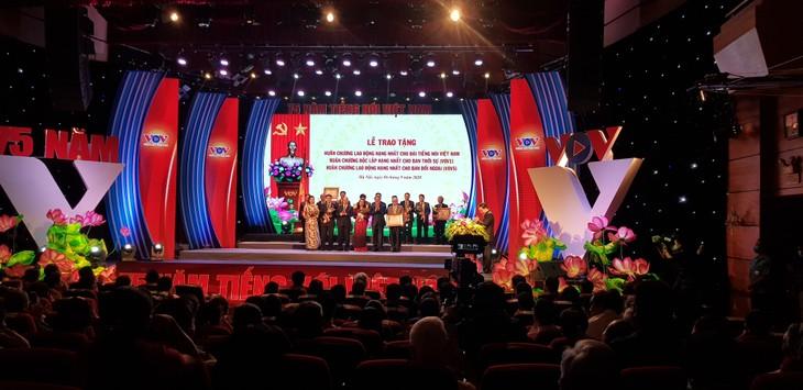 La Voix du Vietnam célèbre son 75e anniversaire  - ảnh 1
