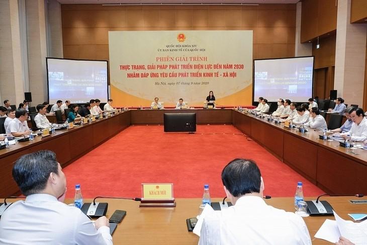 Assemblée nationale: plan national de développement du secteur d'électricité 2030 - ảnh 1
