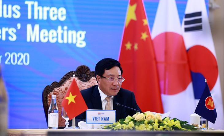 L'ASEAN souhaite promouvoir la coopération avec ses partenaires - ảnh 1