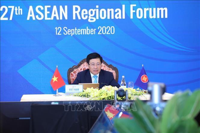 27e Forum régional de l'ASEAN (ARF-27) - ảnh 1