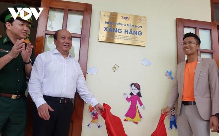 Thanh Hoa: Inauguration d'une école financée par VOV et d'autres bienfaiteurs - ảnh 1