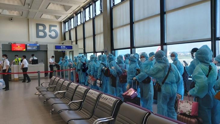 Covid-19: Rapatriement des ressortissants vietnamiens bloqués à Taïwan (Chine) - ảnh 1