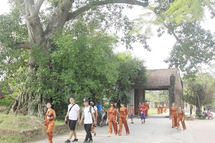 Le village de Duong Lâm fête le 15e anniversaire de sa reconnaissance en tant que vestige national - ảnh 1
