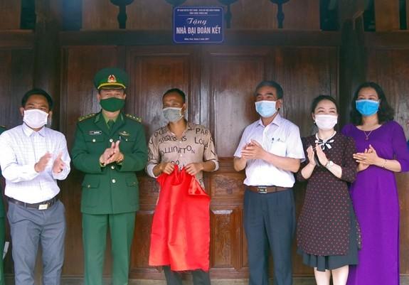 Thua Thiên-Huê célèbre la Journée d'implication populaire dans la défense frontalière - ảnh 1