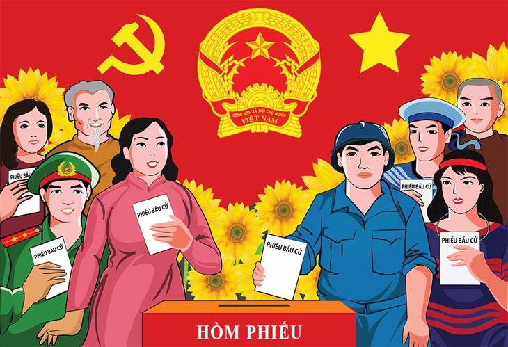 Législatives 2021: les Vietnamiens choisissent leurs représentants  - ảnh 1