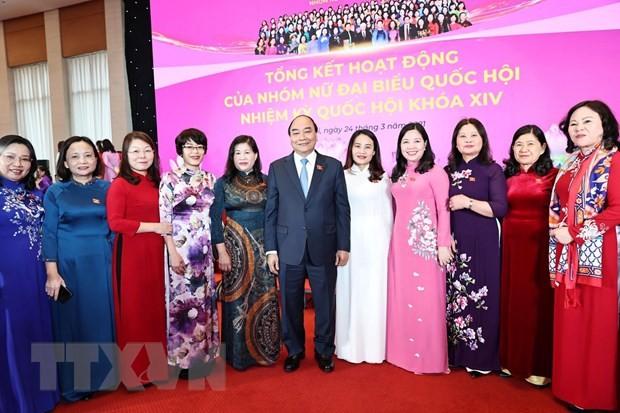 Bilan du travail des femmes députées lors de la 14e législature de l'Assemblée nationale  - ảnh 1