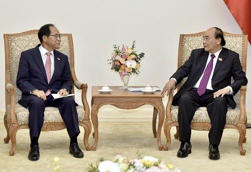 Nguyên Xuân Phuc: le Vietnam réserve les meilleures conditions aux investisseurs sud-coréens - ảnh 1