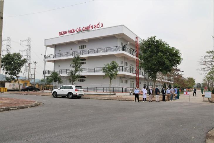 Covid-19: Démontage du dernier hôpital de campagne de Hai Duong - ảnh 1