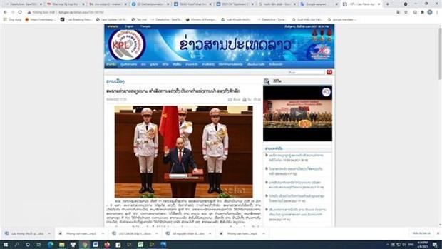 Les médias internationaux couvrent l'élection des nouveaux dirigeants au Vietnam - ảnh 1