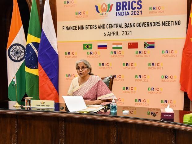 L'Inde accueille la réunion des ministres des Finances et des gouverneurs de Banques centrales des BRICS - ảnh 1