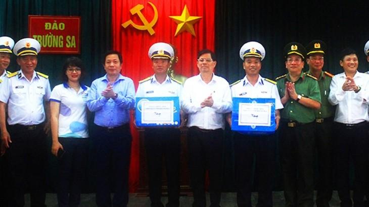 Législatives de 2021: les préparatifs dans le district insulaire de Truong Sa - ảnh 1