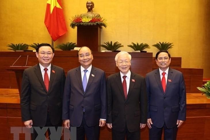 Messages de félicitation aux nouveaux dirigeants vietnamiens - ảnh 1