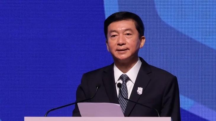 Un représentant de Pékin à Hong Kong avertit les puissances étrangères de ne pas interférer - ảnh 1