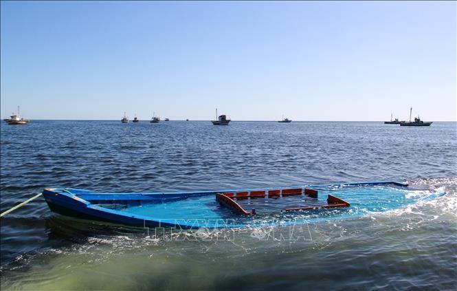 Au moins 40 migrants tués dans un naufrage au large de la Tunisie - ảnh 1