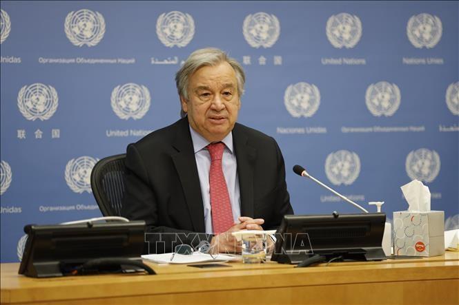 Sommet mondial sur le climat: «Nous sommes au bord du gouffre», déclare Antonio Guterres  - ảnh 1
