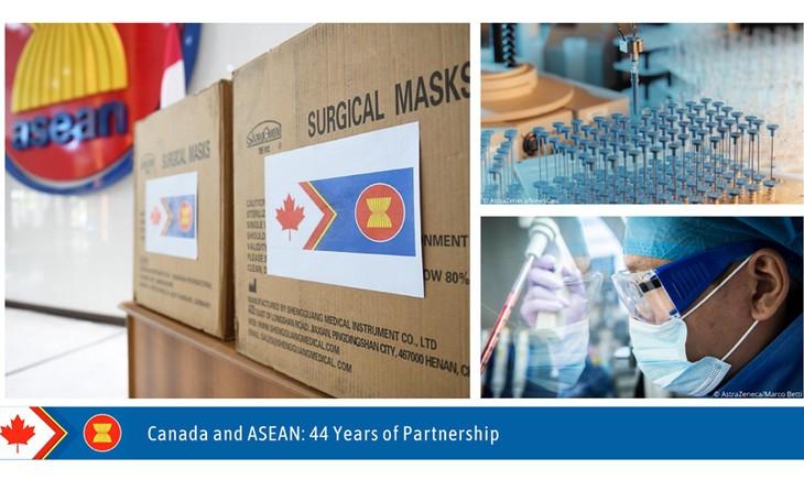 Le Canada contribuera à hauteur de 3,5 millions de dollars canadiens au Fonds de réponse à la Covid-19 de l'ASEAN - ảnh 1