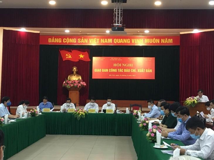 Nguyên Trong Nghia préside une conférence sur les activités des organes de presse et des éditions - ảnh 1