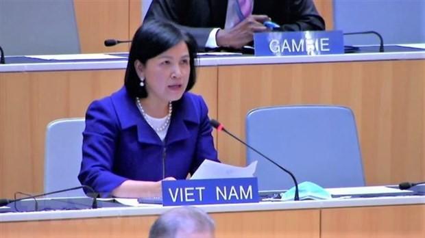 Le Vietnam s'engage à promouvoir et protéger les droits de l'homme - ảnh 1