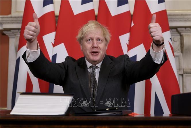 Boris Johnson salue le choix du Brexit  - ảnh 1