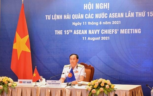 Sécurité maritime: Les armées navales de l'ASEAN intensifient leur coopération - ảnh 1