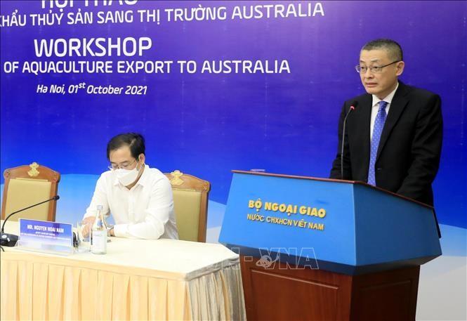 Les exportateurs de fruits de mer se tournent vers l'Australie   - ảnh 1