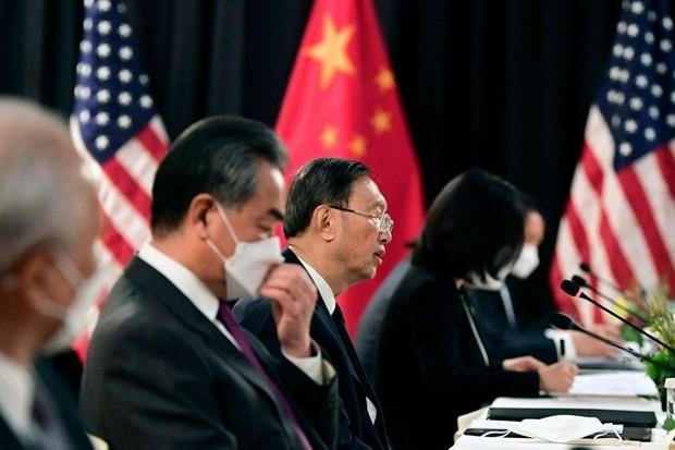 Sur fond de tensions accrues, de hauts représentants américains et chinois se retrouvent en Suisse - ảnh 1