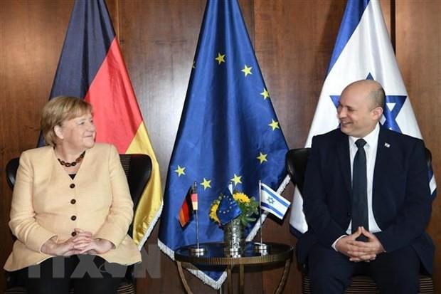 En visite en Israël, Angela Merkel réitère le soutien indéfectible de l'Allemagne - ảnh 1