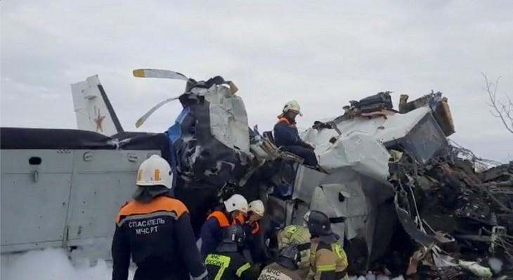 Russie: seize morts dans le crash d'un avion  - ảnh 1