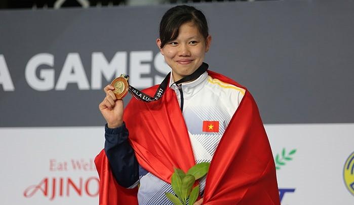 Сборная Вьетнама находится на 3-м месте в общекомандном зачёте на 29-х Играх ЮВА - ảnh 1