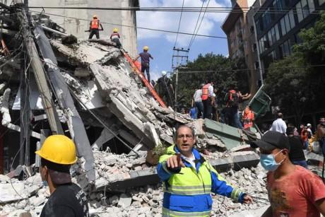 Страны мира выражают соболезнования в связи с произошедшим в Мексике землятресением  - ảnh 1