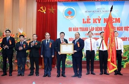 Больница вьетнамо-советской дружбы отмечает своё 60-летие - ảnh 1