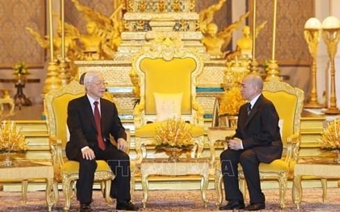 Отношения между Вьетнамом и Камбоджей вышли на новый уровень - ảnh 1