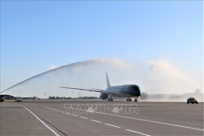 Vietnam Airlines официально открыл рейсы в Шереметьево - ảnh 1