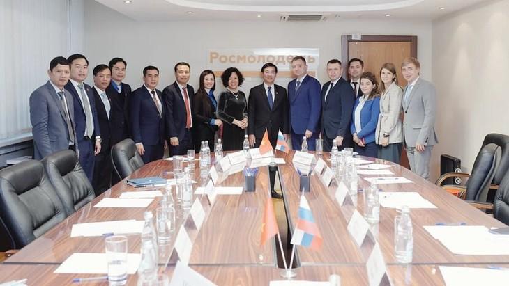 Вьетнам и Россия наращивают сотрудничество по делам молодежи - ảnh 1